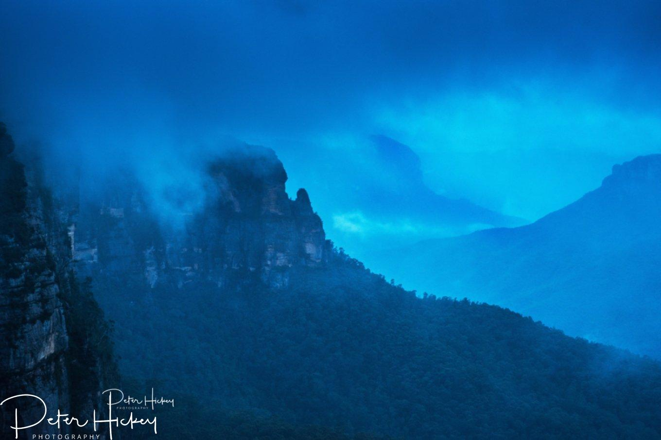 Captured during a storm in the Grose Valley